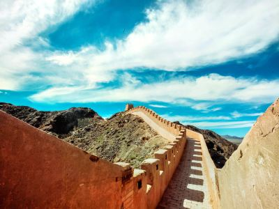 The Great Wall in Suspension