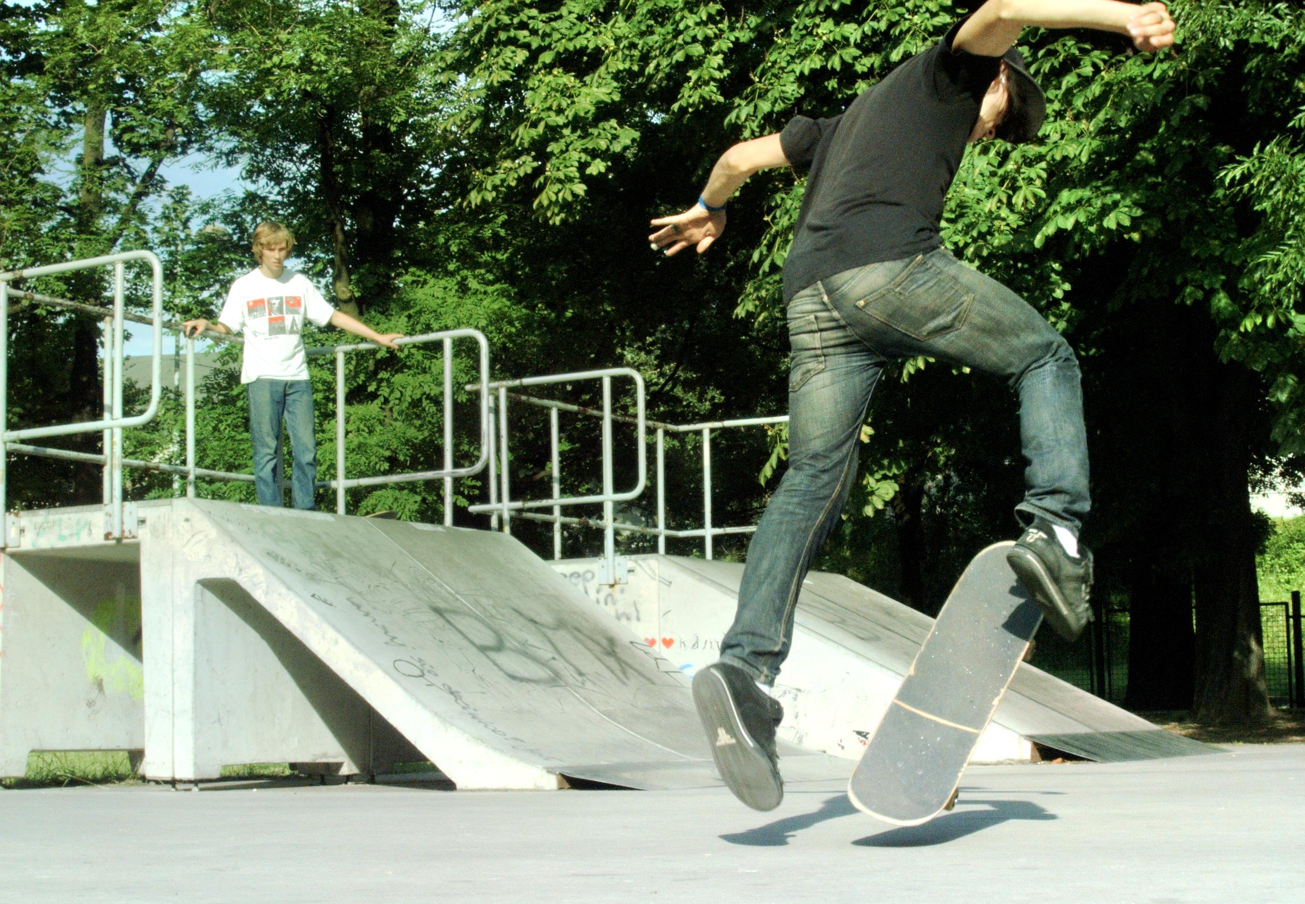 Skatepark Dagger, Santa Teresita.