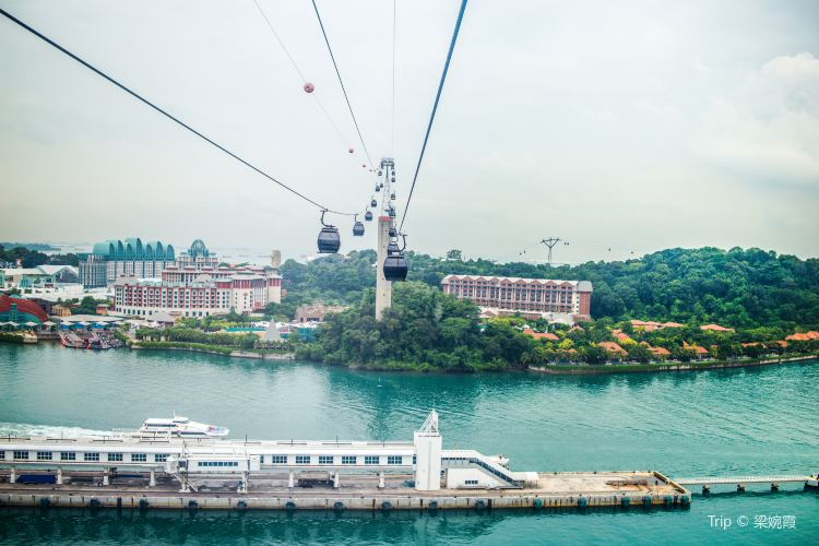 Mount Faber Cable Car2