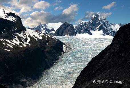 Mount Fox and the Fox Glacier