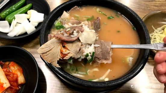 King pork soup rice