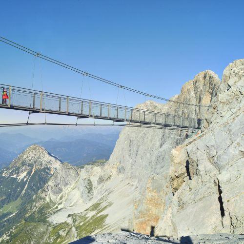 Dachstein山上的五指平臺