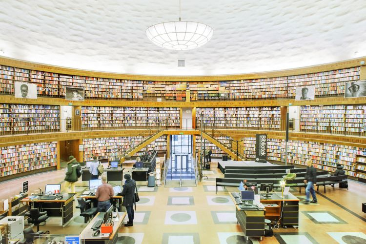 斯德哥爾摩公共圖書館