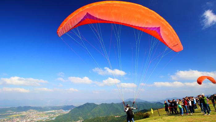 永安山滑翔傘訓練基地