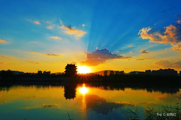 臨汾汾河公園1