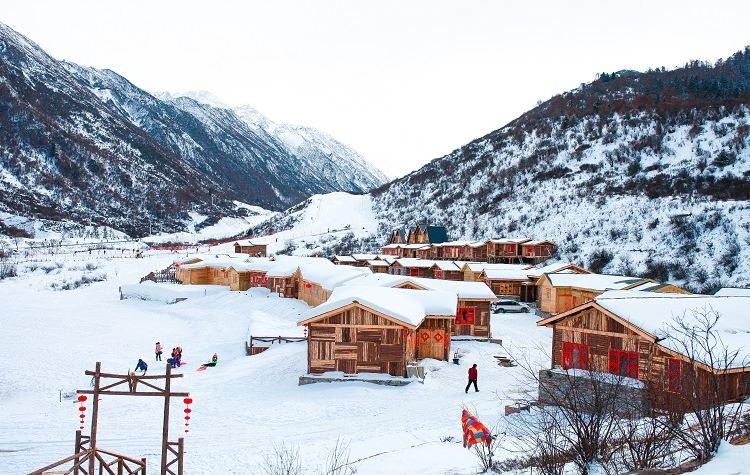 Zhegushanzirangongyuan Ski Field4