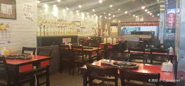 樂伯部隊鍋(明洞店)2