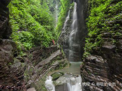 坐龍峽風景區