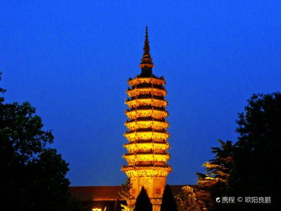 Chengling Pagoda of Linji Temple