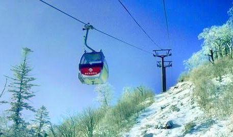 亞布力觀光纜車及世界第一滑道