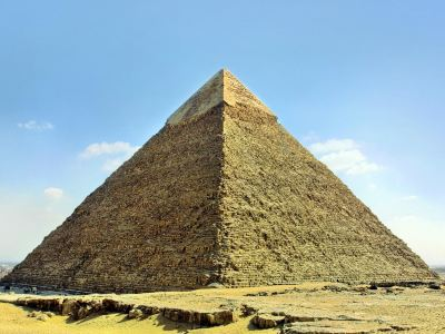 Khafre, the second pyramid