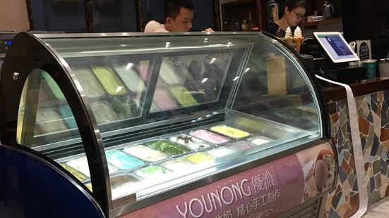 優濃意大利風味冰淇淋