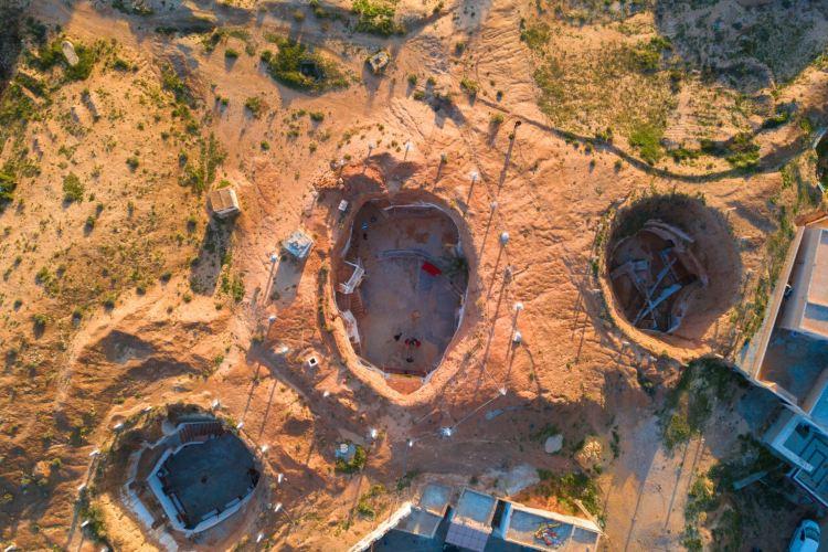 柏柏爾人洞穴民居2