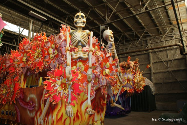 Blaine Kern's Mardi Gras World1