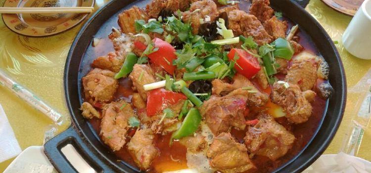 五台山惠客旅鐵鍋菜雞店3