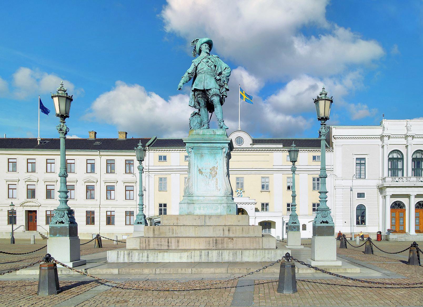 哥德堡市政廳廣場