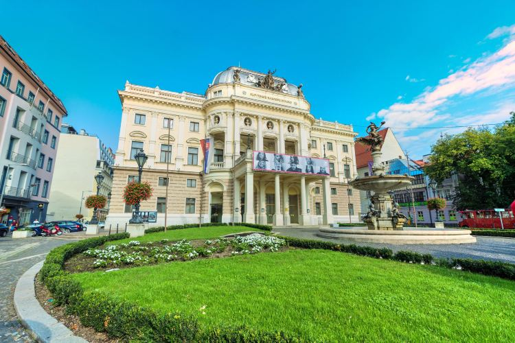 Historical building of the Slovak National Theatre