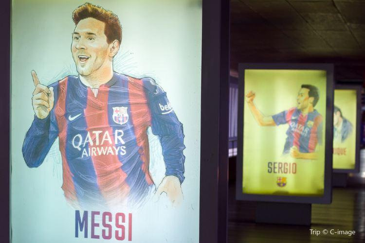 巴塞羅那足球俱樂部博物館1