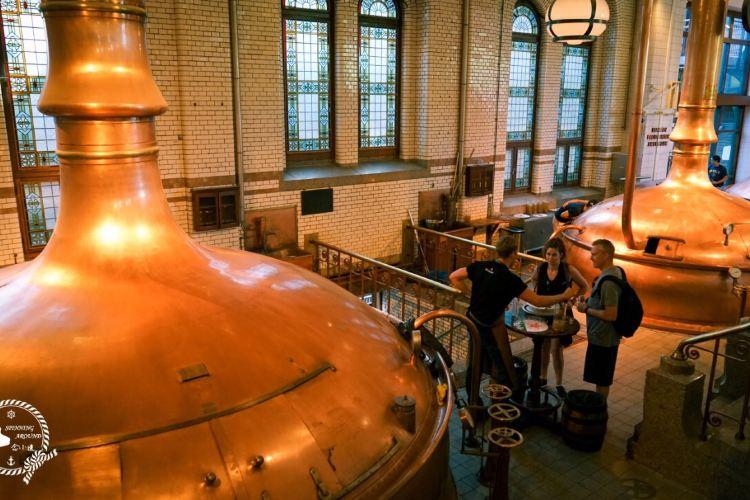 喜力ビール博物館1