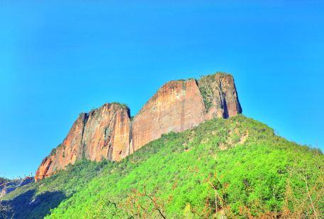 Laojun Mountain Danxia Landform Scenic Resort