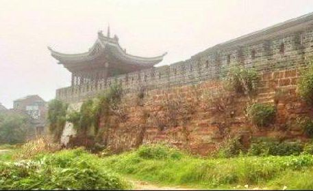 The Ancient Wall of the Southern Song Dynasty
