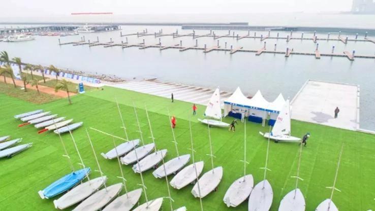 海口市國家帆船基地公共碼頭