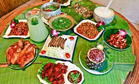 景洪港傣家美食園2