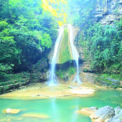 Niujiaozhai Waterfall Scenic Area