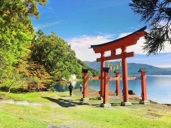 Gozanoishi Shrine
