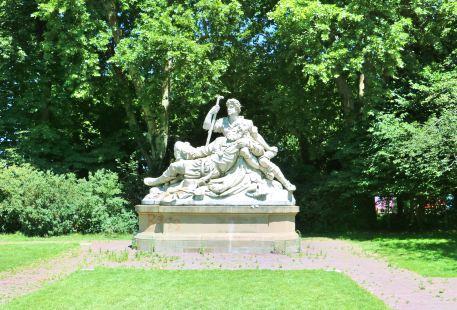 宮殿花園的下園