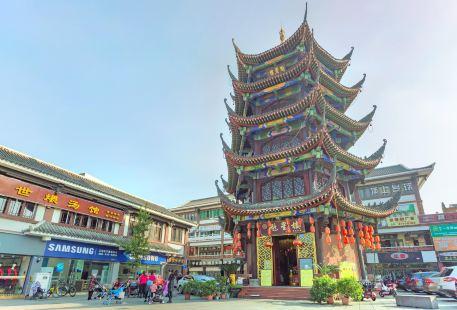 Confucious temple in Wenjiang