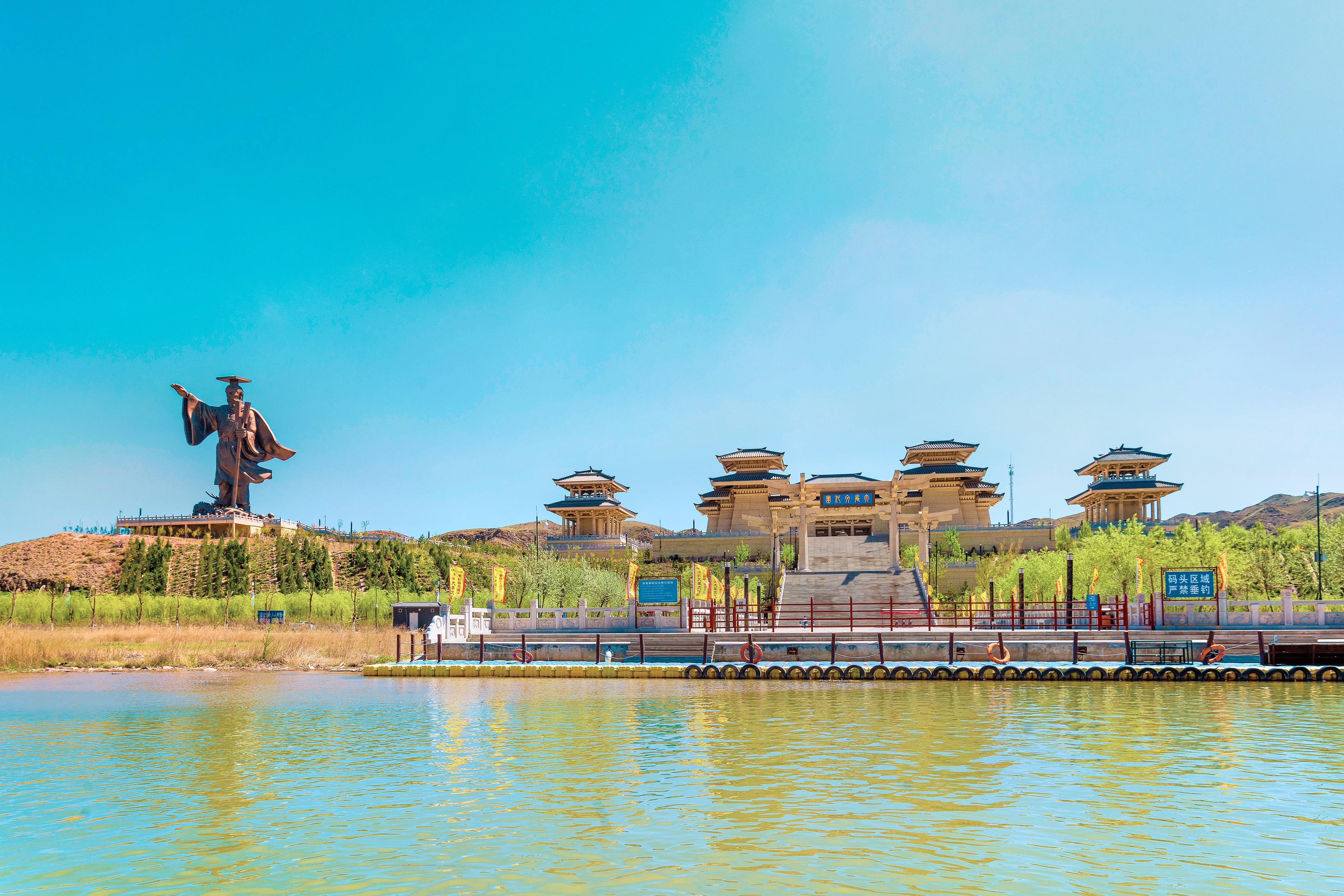 青銅峽黃河大峽谷