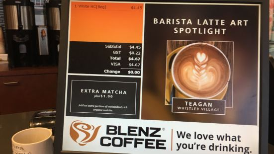 Blenz Coffee - Library Square
