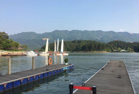 花樣龍水湖