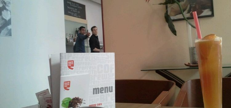 Cafe Coffee Day1