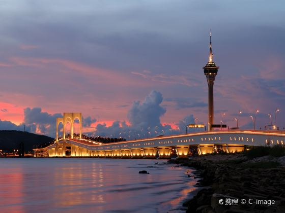 Friendship Bridge and Macau-Taipa Bridge