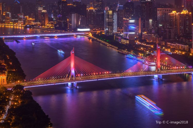 Guangzhou Tower Pier Night Tour1