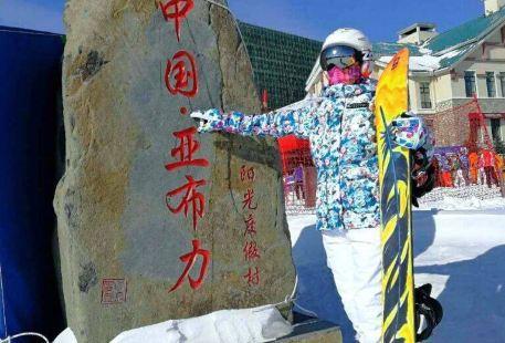 冰雪奇緣之雪景遊樂園