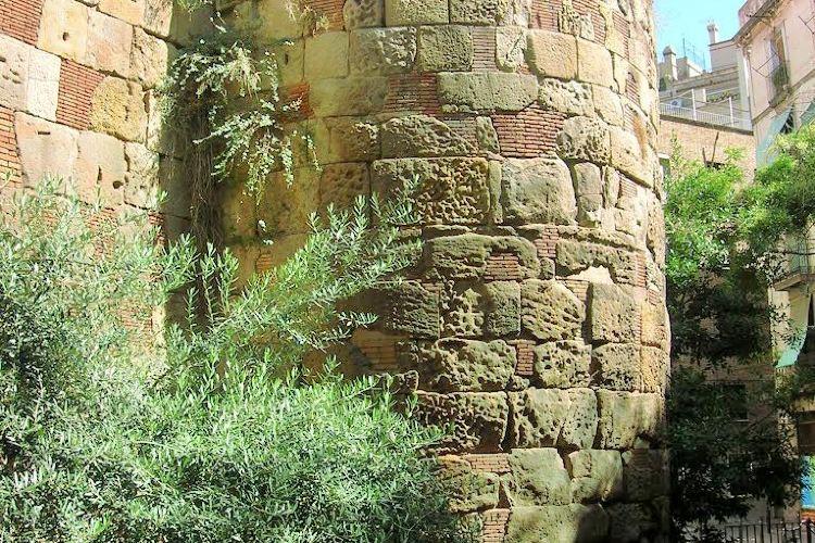 古羅馬城牆高塔