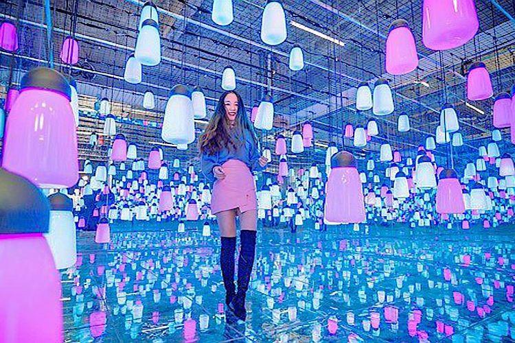 迷宮的異想世界——撩角創意空間科技光影藝術展