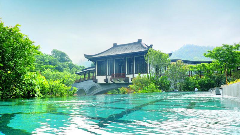 중하이후이저우(중해혜주) 온천