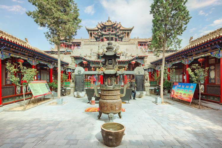 Gaomiao Temple of Zhongwei