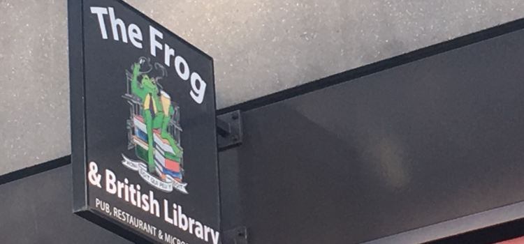 The Frog & British Library3
