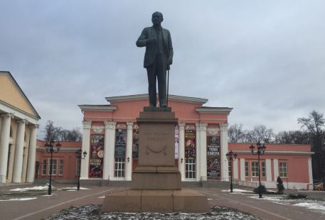 the Monument to I. P. Pavlov