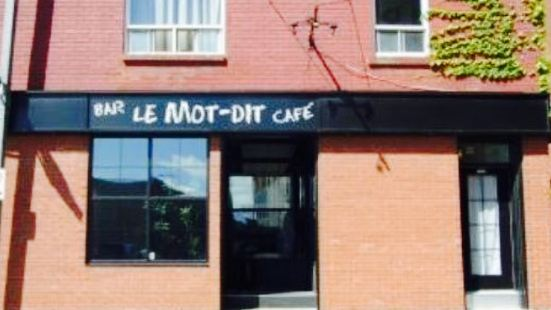 Cafe Galerie Le Mot-Dit