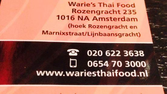 Warie's Thai Food