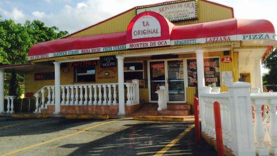 Montes DE OCA Pizza Cubana