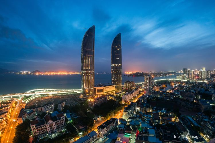 Xiamen Twin Towers1