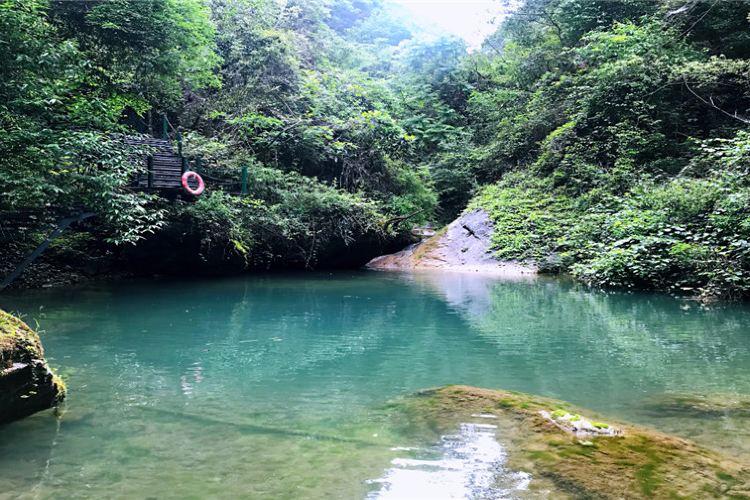 雁山瀑布2