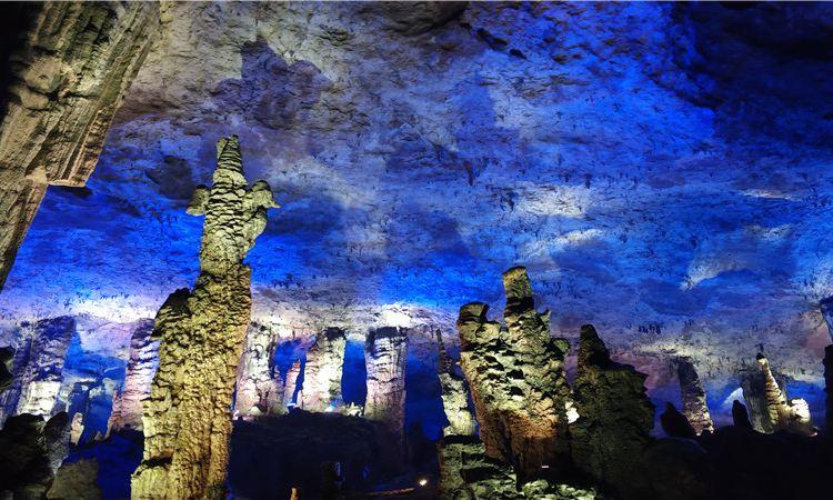 Jiutian Cave2